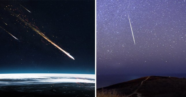 The Quadrantids meteor shower takes place in January 2021