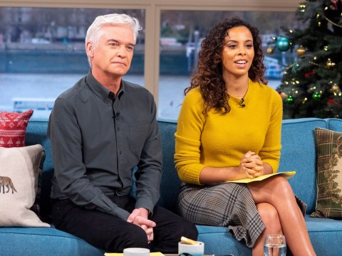 Rochelle Humes praises 'dream' Phillip Schofield after This Morning stint as she denies return to music