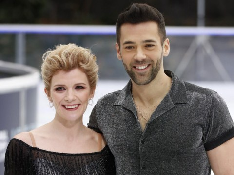 Jane Danson says Dancing On Ice partner 'hasn't gone easy' on her despite being married to best mate Samia Ghadie