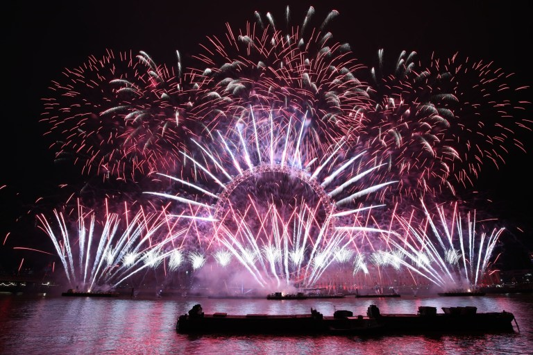 The best New Year fireworks from around the world | Metro News
