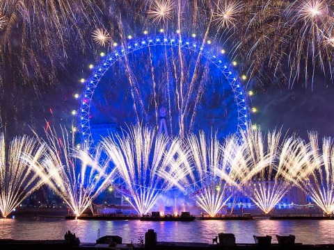 Best place to watch New Year's Eve fireworks across UK with rain forecast