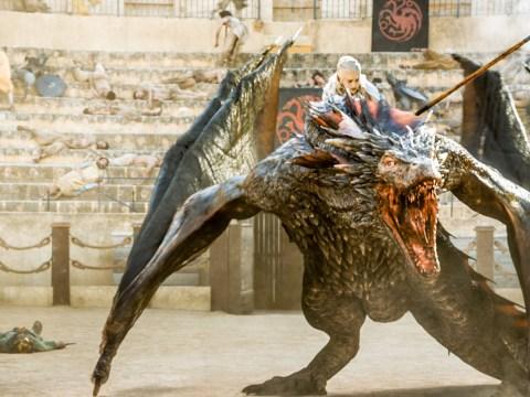What are the names of Daenerys Targaryen's three dragons?