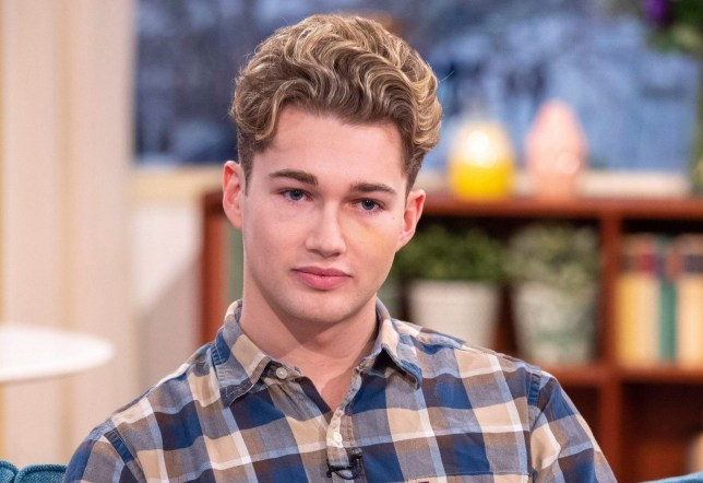 Editorial use only Mandatory Credit: Photo by Ken McKay/ITV/REX (10044998aq) AJ Pritchard 'This Morning' TV show, London, UK - 02 Jan 2019 STRICTLY'S AJ PRITCHARD: 'MY BROTHER SAVED MY LIFE IN HORROR ATTACK' He?s used to lighting up the floor on Strictly, but this Christmas professional dancer AJ Pritchard and his brother Curtis were involved in a horrific attack at a nightclub in Cheshire. Curtis, also a dancer, has also been forced to pull out of the Irish version of Dancing With The Stars, and AJ says that had his brother not acted, he could have been killed. The brothers join us to share their story, and why the attack left them too scared to go out on New Year's Eve.