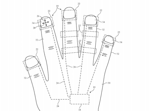 iGlove on the way? Apple patent hints at plan for bizarre wearable finger mouse