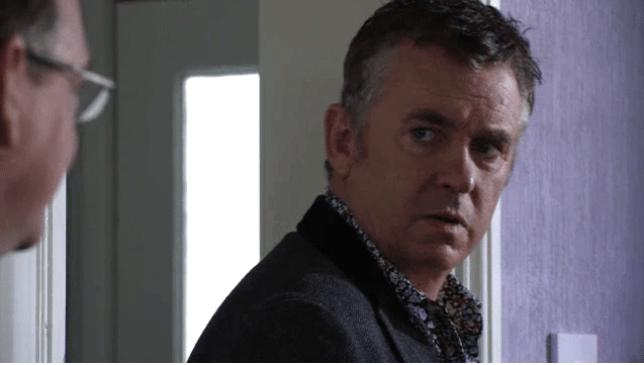 Shane Ritchie's character Alfie Moon in Eastenders