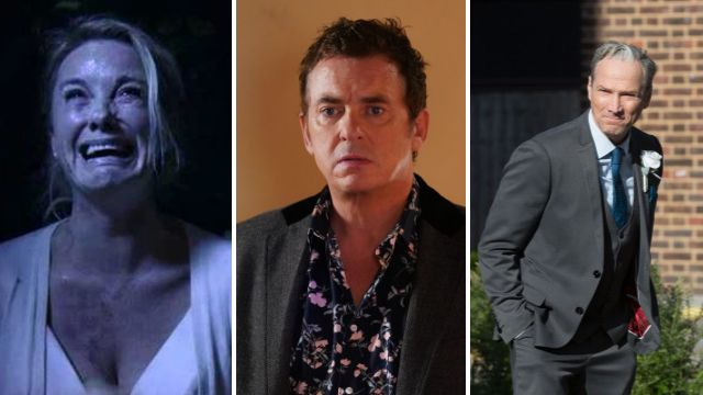 EastEnders mocks characters' abilities to kill each other off as three come back from the dead in a fortnight