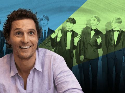 Matthew McConaughey's son is major BTS fan and can rap in Korean