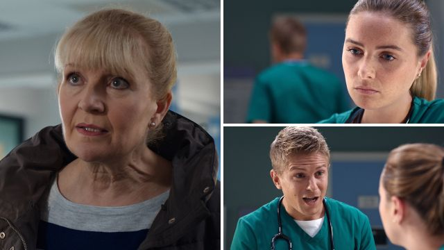 7 Casualty spoilers: Duffy faces a dementia test and Alicia fights to save a newborn baby