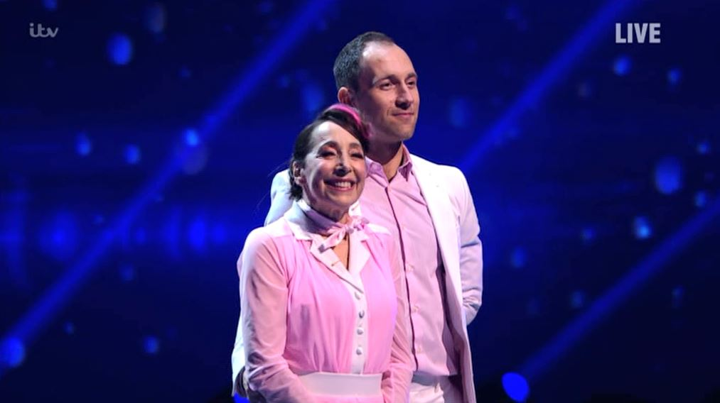 Dancing On Ice's Didi Conn becomes third contestant to be eliminated after skate-off