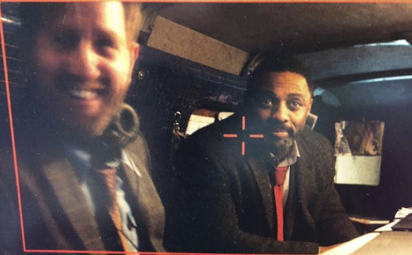 Luther's Michael Smiley shares smiley pic from set with Idris Elba to 'balance out' brutal series 5 finale