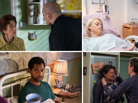 20 soap spoilers: Emmerdale death truth, Coronation Street knife attack, EastEnders breakdown, Hollyoaks hostage
