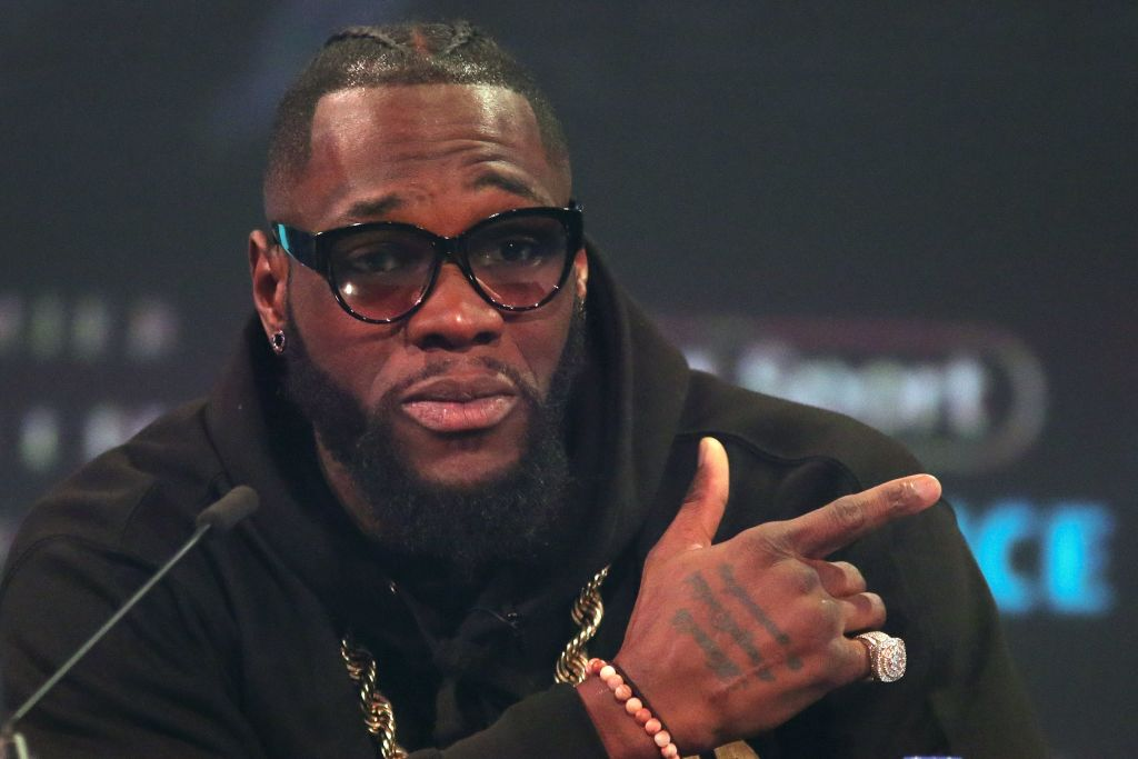 Deontay Wilder urges Dillian Whyte to ditch Eddie Hearn if he wants WBC world title fight