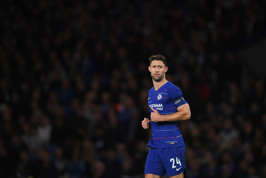 Gary Cahill rejected move to European giants to fight for Chelsea place