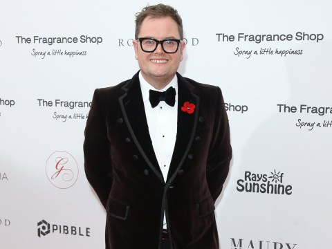 Alan Carr was terrified for his life during A League Of Their Own car race: 'I don't want my husband to be a widow'