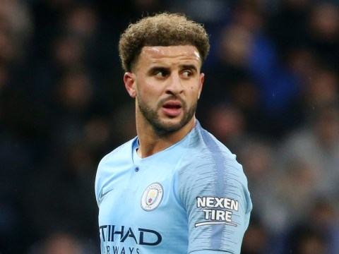 Manchester City star Kyle Walker deletes post after trolling Liverpool on Twitter