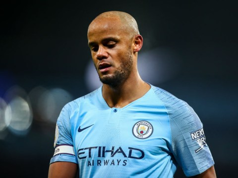 Manchester City want Vincent Kompany to take pay cut to sign 12-month extension