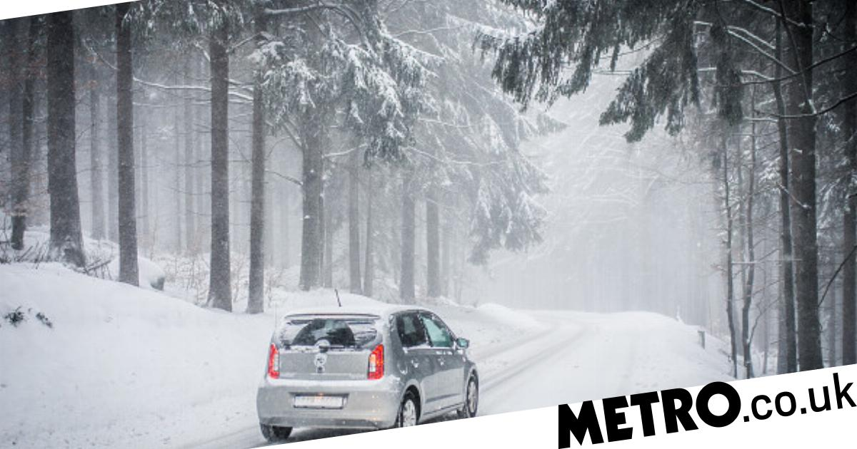 How to drive in the snow as the UK faces yellow weather