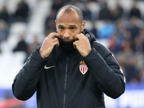 Arsenal legend Thierry Henry facing the sack at Monaco after just 17 matches in charge