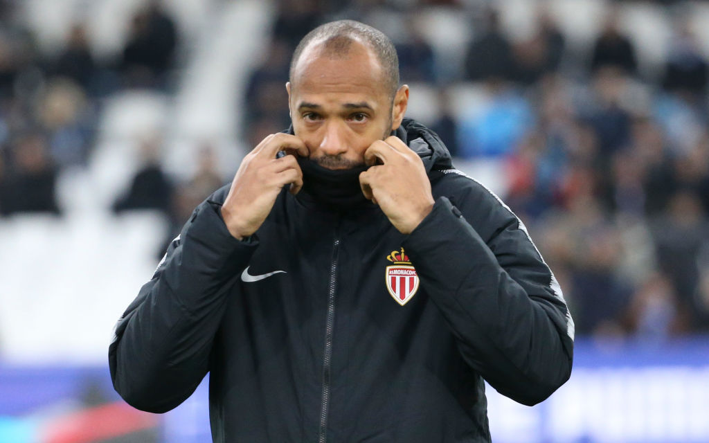Monaco suspend Thierry Henry from management duties