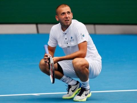 Dan Evans reflects on 'depressing' absence as Roger Federer backs him for rankings charge