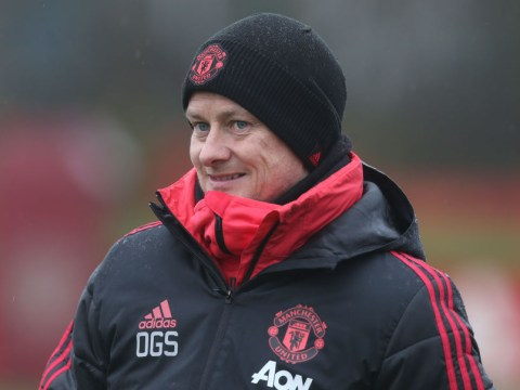 Ole Gunnar Solskjaer says he already knows his Manchester United teams for the next month