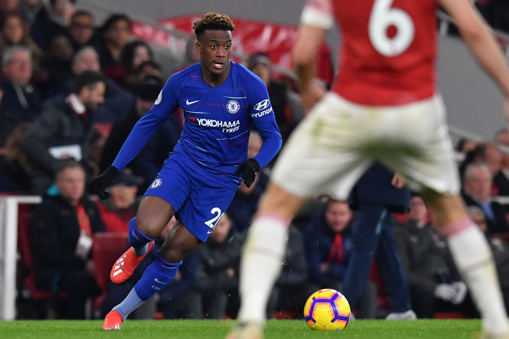 Liverpool will not make transfer move for Chelsea star Callum Hudson-Odoi