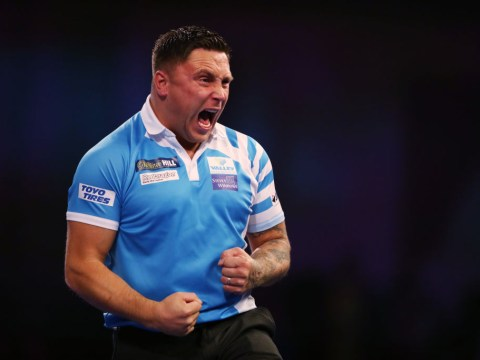 Gerwyn Price hit with huge fine by DRA for Grand Slam of Darts antics
