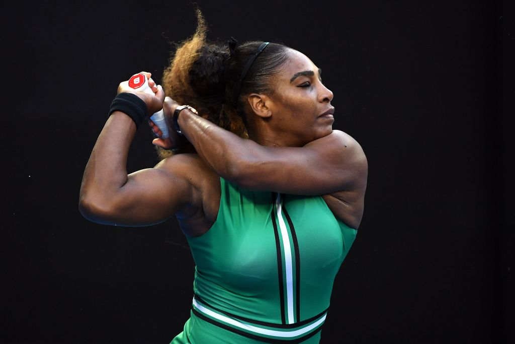 Serena Williams battles past world No. 1 Simona Halep to reach Australian Open quarter-finals