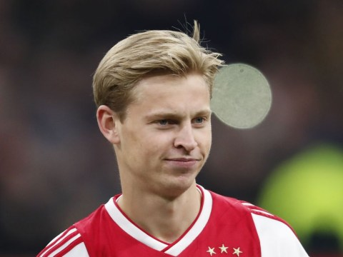 Manchester City fear Paris Saint-Germain are closing in on Ajax star Frenkie de Jong