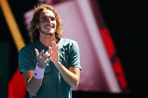 Stefanos Tsitsipas explains what Serena Williams' coach brings and how Roger Federer win impacted him
