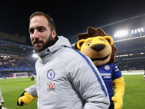 Eden Hazard backs Gonzalo Higuain to cure Chelsea's goalscoring problem