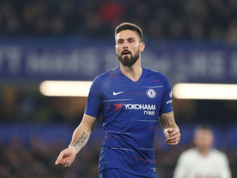 Olivier Giroud hints at Chelsea exit after Gonzalo Higuain's arrival