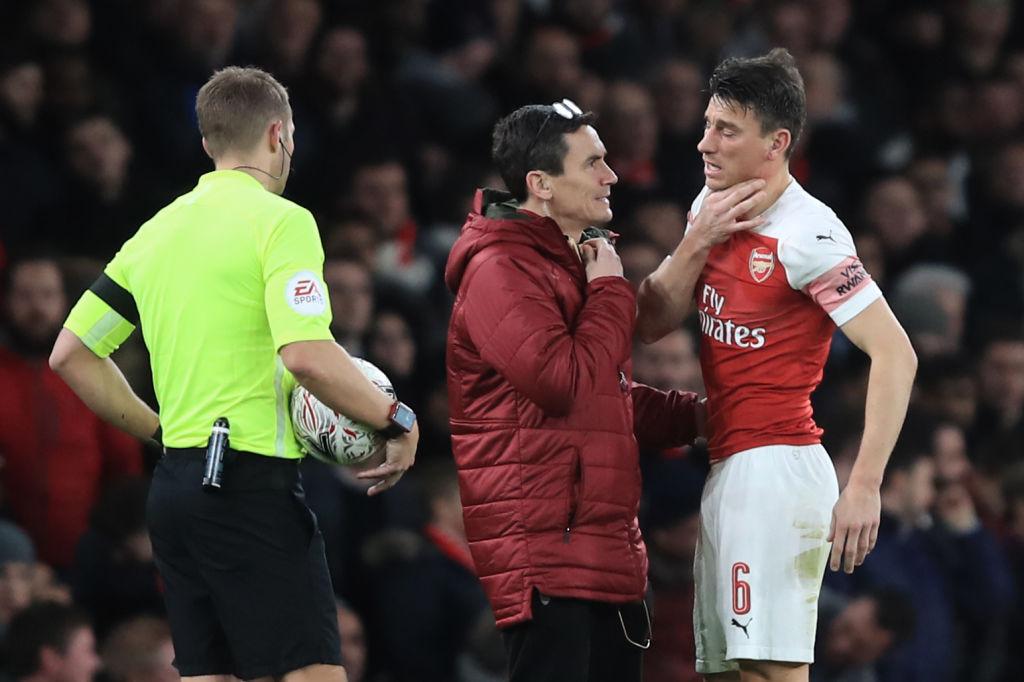 Arsenal injury news: Laurent Koscielny avoids broken jaw, Sokratis to miss next month