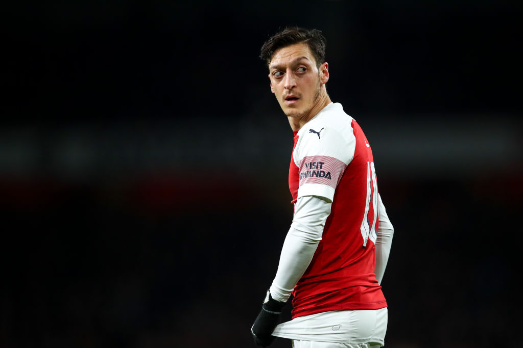Inter demand Arsenal pay half of Mesut Ozil's wages in transfer offer