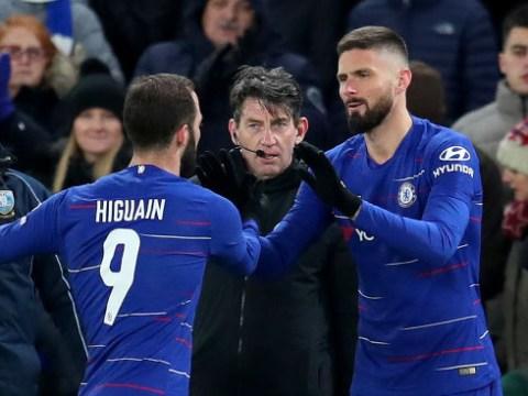 Olivier Giroud coy over Chelsea future amid shock Barcelona rumours