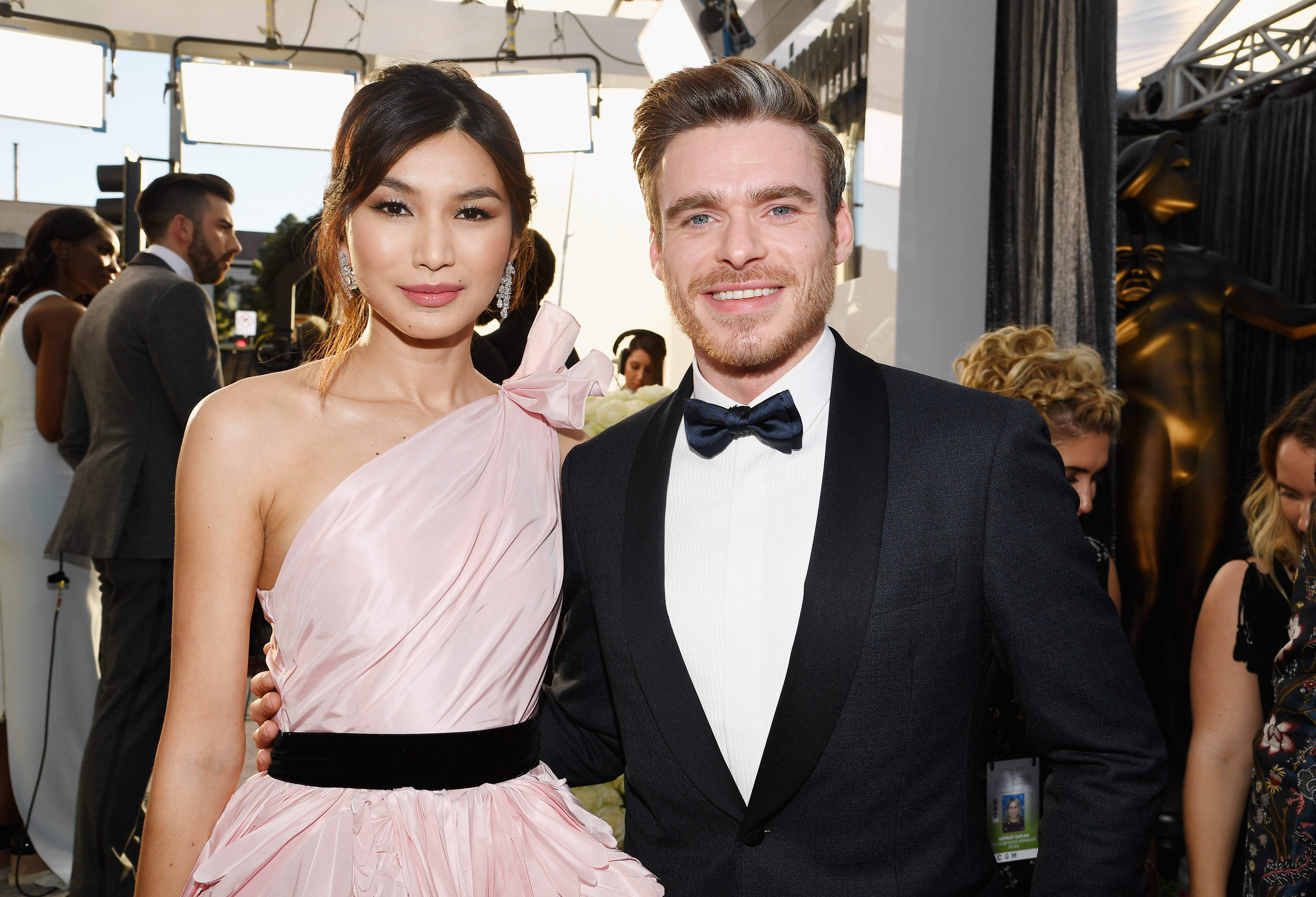 Richard Madden drops Game Of Thrones spoiler at SAG Awards after reuniting with longtime pal Gemma Chan