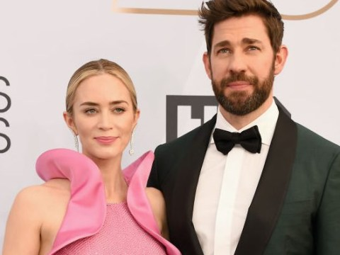 Emily Blunt dedicates SAG Awards win to husband John Krasinski and proves they're couple goals