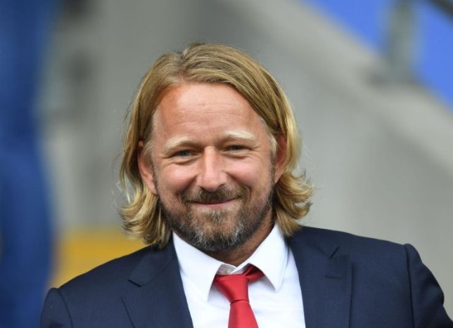 Arsenal head of recruitment Sven Mislintat