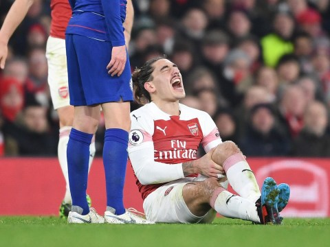 Hector Bellerin breaks silence on horror injury after Arsenal confirm his season is over