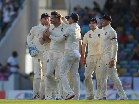 James Anderson sets England record as West Indies collapse in first Test