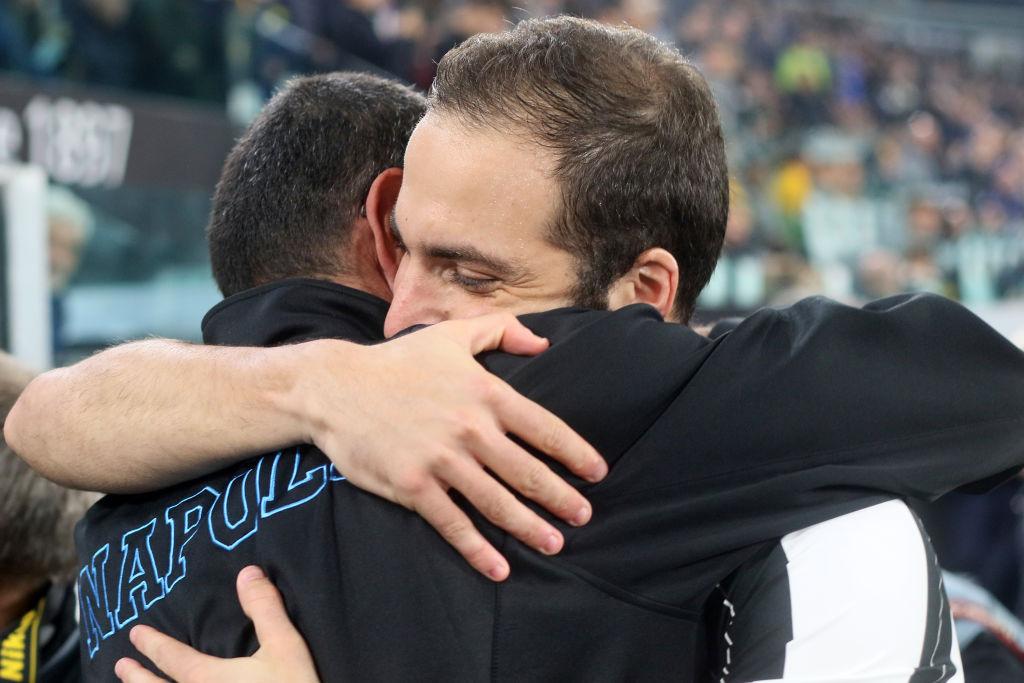 What Gonzalo Higuain has said about Maurizio Sarri ahead of Chelsea transfer