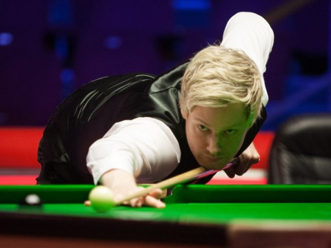 Neil Robertson downs world champion Mark Williams in the first round of the Masters