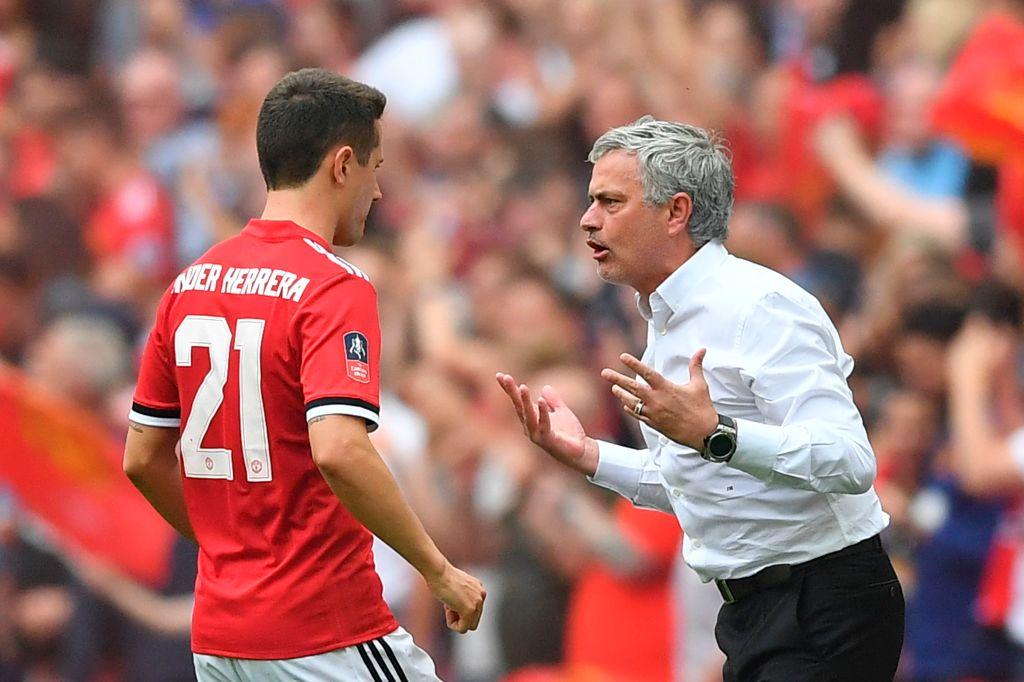 Manchester United star Ander Herrera responds to claims he took swipe at Jose Mourinho
