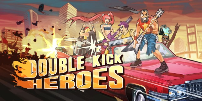Double Kick Heroes - not a AAA game