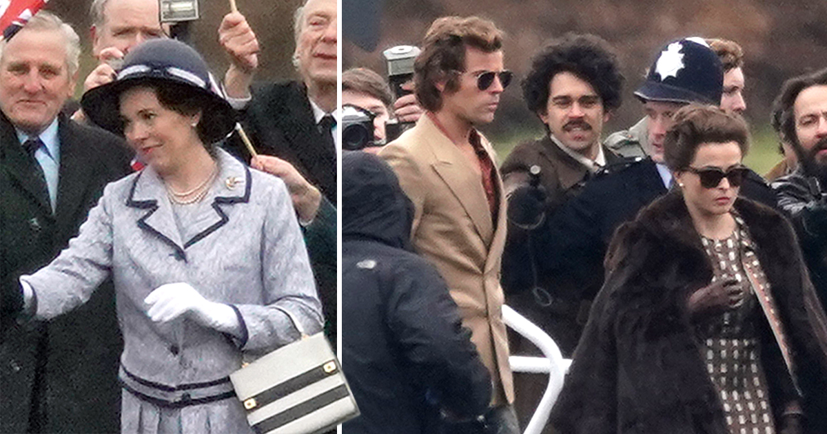 The Crown series 3: Helena Bonham Carter's Princess Margaret debuts toyboy as they join Olivia Colman on set