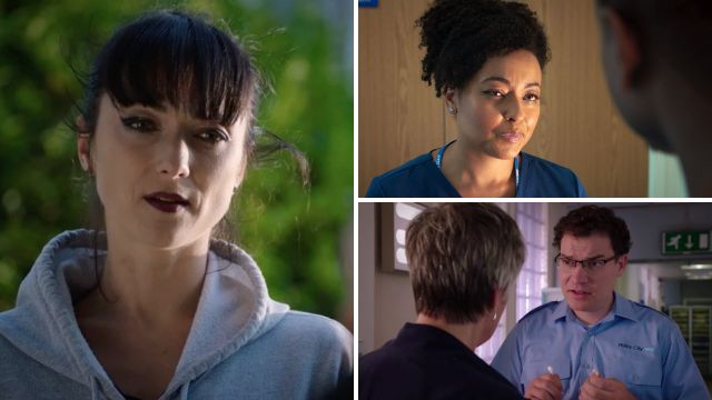 7 Holby City spoilers: Frieda's old flame returns, and Zav crosses a line