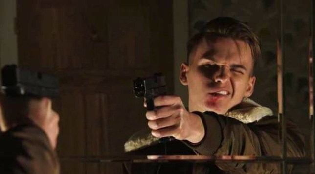 Hunter shot in EastEnders