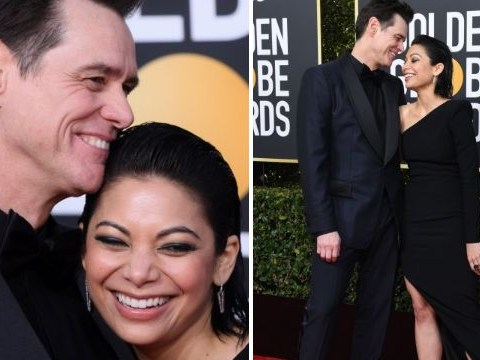 Jim Carrey and Kidding co-star Ginger Gonzaga confirm relationship at Golden Globes 2019 with red carpet debut