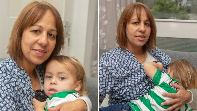 Mother shamed by council worker for trying to breastfeed son in waiting room