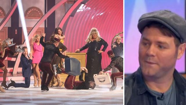 Brian McFadden admits The GC is 'hard to take' as he compares Dancing on Ice backstage tension to Corrie